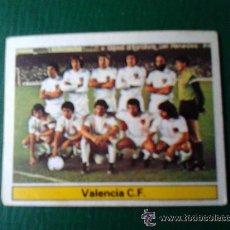 Cromos de Fútbol: ESTE 81-82 1981 1982 ALINEACION VALENCIA NUNCA PEGADO. Lote 19238792