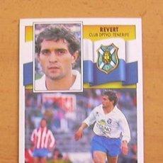 Fußball-Sticker - Tenerife - Revert - Ediciones Este 1990-1991, 90-91 - nunca pegado - 34950301