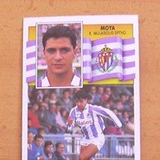 Football Stickers - Valladolid - Moya - Ediciones Este 1990-1991, 90-91 - nunca pegado - 34951142