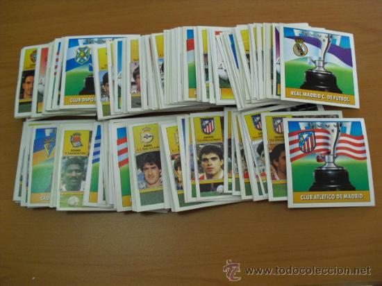 155 CROMOS DE EDICIONES ESTE 1992-93,NO HAY REPETIDOS (Coleccionismo Deportivo - Álbumes y Cromos de Deportes - Cromos de Fútbol)
