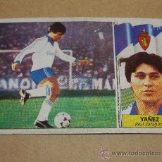 Cromos de Fútbol: COLOCA YAÑEZ. TEMPORADA 86/87. REAL ZARAGOZA. Lote 35174168