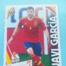 Cromos de Fútbol: FICHA JAVI GARCIA (ESPAÑA) - COLECCION JAS JUGON SELECCION ESPAÑOLA - ALL STARS - . Lote 35224514