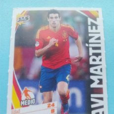 Cromos de Fútbol: FICHA JAVI MARTINEZ (ESPAÑA) - COLECCION JAS JUGON SELECCION ESPAÑOLA - ALL STARS - . Lote 35224515