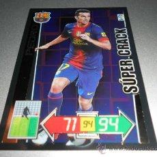 Cromos de Futebol: 434 PEDRO SUPER CRACK SUPERCRACK F.C. BARCELONA CROMOS ADRENALYN XL LIGA 2012 2013 12 13 PANINI. Lote 226025805