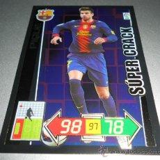 Cromos de Futebol: 432 PIQUE SUPER CRACK SUPERCRACK F.C. BARCELONA CROMOS ADRENALYN XL LIGA 2012 2013 12 13 PANINI. Lote 203607732