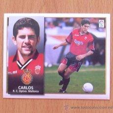 Cromos de Fútbol: MALLORCA - CARLOS - COLOCA - EDICIONES ESTE 1998-1999, 98-99 - NUNCA PEGADO. Lote 27504772