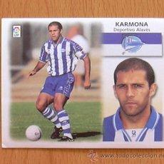 Cromos de Fútbol: ALAVÉS - KARMONA - EDICIONES ESTE 1999-2000, 99-00 - NUNCA PEGADO. Lote 35534206
