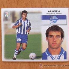 Cromos de Fútbol: ALAVÉS - AZKOITIA - EDICIONES ESTE 1999-2000, 99-00 - NUNCA PEGADO. Lote 35534393