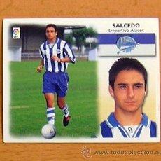 Cromos de Fútbol: ALAVÉS - SALCEDO - EDICIONES ESTE 1999-2000, 99-00 - NUNCA PEGADO. Lote 35534405