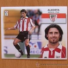Cromos de Fútbol: ATHLETIC DE BILBAO - ALKORTA - EDICIONES ESTE 1999-2000, 99-00 - NUNCA PEGADO. Lote 35534620