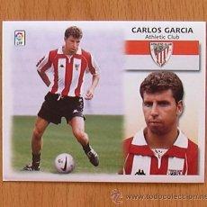 Cromos de Fútbol: ATHLETIC DE BILBAO - CARLOS GARCIA - EDICIONES ESTE 1999-2000, 99-00 - NUNCA PEGADO. Lote 35534696