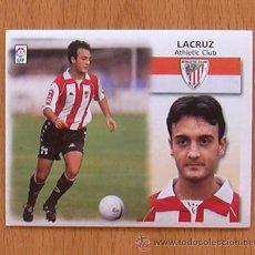 Cromos de Fútbol: ATHLETIC DE BILBAO - LACRUZ - EDICIONES ESTE 1999-2000, 99-00 - NUNCA PEGADO. Lote 35534712