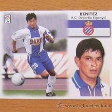 Cromos de Fútbol: R.C.D. ESPAÑOL - BENITEZ - EDICIONES ESTE 1999-2000, 99-00 - NUNCA PEGADO. Lote 35551885