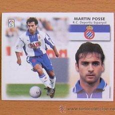 Cromos de Fútbol: R.C.D. ESPAÑOL - MARTIN POSSE - EDICIONES ESTE 1999-2000, 99-00 - NUNCA PEGADO. Lote 35551995