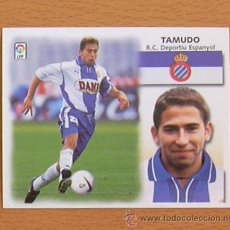 Cromos de Fútbol: R.C.D. ESPAÑOL - TAMUDO - EDICIONES ESTE 1999-2000, 99-00 - NUNCA PEGADO. Lote 35552017