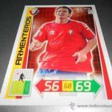 Cromos de Futebol: 249 ARMENTEROS OSASUNA CROMOS ALBUM ADRENALYN XL LIGA FUTBOL 2012 2013 12 13 PANINI. Lote 114932324