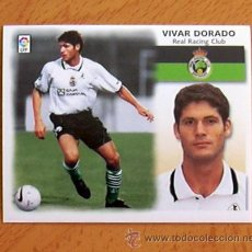 Cromos de Fútbol: RACING DE SANTANDER - VIVAR DORADO - EDICIONES ESTE 1999-2000, 99-00 - NUNCA PEGADO. Lote 35565224