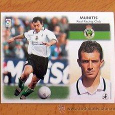 Cromos de Fútbol: RACING DE SANTANDER - MUNITIS - EDICIONES ESTE 1999-2000, 99-00 - NUNCA PEGADO. Lote 35565390