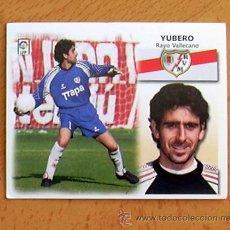 Cromos de Fútbol: RAYO VALLECANO - YUBERO - EDICIONES ESTE 1999-2000, 99-00 - NUNCA PEGADO. Lote 35565525