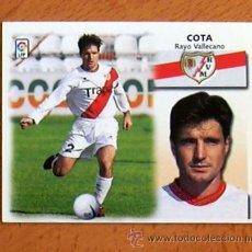 Cromos de Fútbol: RAYO VALLECANO - COTA - EDICIONES ESTE 1999-2000, 99-00 - NUNCA PEGADO. Lote 35565540