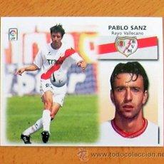 Cromos de Fútbol: RAYO VALLECANO - PABLO SANZ - EDICIONES ESTE 1999-2000, 99-00 - NUNCA PEGADO. Lote 35565612