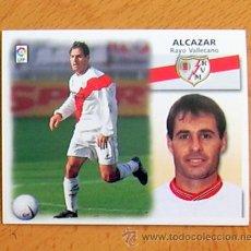 Cromos de Fútbol: RAYO VALLECANO - ALCÁZAR - EDICIONES ESTE 1999-2000, 99-00 - NUNCA PEGADO. Lote 35565652