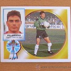 Cromos de Fútbol: CELTA - VILLANUEVA - EDICIONES ESTE 1994-1995, 94-95 - NUNCA PEGADO. Lote 35586829