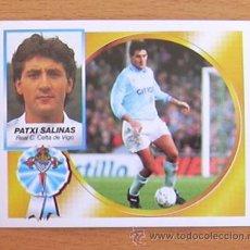 Cromos de Fútbol: CELTA - PATXI SALINAS - EDICIONES ESTE 1994-1995, 94-95 - NUNCA PEGADO. Lote 35586890
