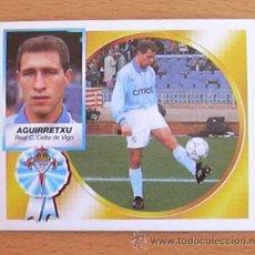 Cromos de Fútbol: CELTA - AGUIRRETXU - EDICIONES ESTE 1994-1995, 94-95 - NUNCA PEGADO. Lote 35586916