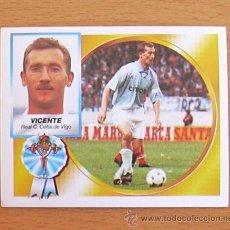 Cromos de Fútbol: CELTA - VICENTE - EDICIONES ESTE 1994-1995, 94-95 - NUNCA PEGADO. Lote 35586972