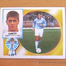 Cromos de Fútbol: CELTA - CARLOS - EDICIONES ESTE 1994-1995, 94-95 - NUNCA PEGADO. Lote 35587051
