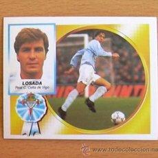 Cromos de Fútbol: CELTA - LOSADA - EDICIONES ESTE 1994-1995, 94-95 - NUNCA PEGADO. Lote 35587133