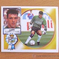 Cromos de Fútbol: DEPORTIVO LA CORUÑA - LIAÑO - EDICIONES ESTE 1994-1995, 94-95 - NUNCA PEGADO. Lote 35593772