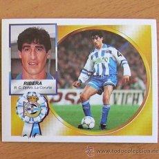 Cromos de Fútbol: DEPORTIVO LA CORUÑA - RIBERA - EDICIONES ESTE 1994-1995, 94-95 - NUNCA PEGADO. Lote 35593812