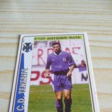 Cromos de Fútbol: 169 ANTONIO MATA TENERIFE MUNDICROMO FICHAS DE LA LIGA 1994-1995 94-95. Lote 195288663