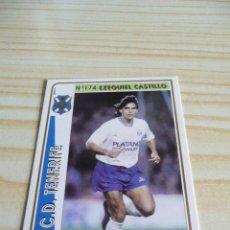 Cromos de Fútbol: 174 EZEQUIEL CASTILLO TENERIFE MUNDICROMO FICHAS DE LA LIGA 1994-1995 94-95. Lote 195288686