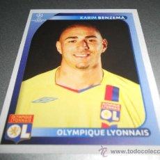 Cromos de Fútbol: 364 KARIM BENZEMA OLYMPIQUE DE LYON LYONNAIS CROMOS UEFA CHAMPIONS LEAGUE 2008 2009 08 09. Lote 207112470