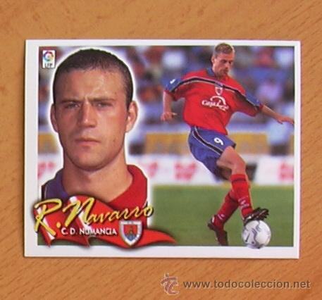 NUMANCIA - RUBÉN NAVARRO - EDICIONES ESTE 2000-2001, 00-01 - NUNCA PEGADO (Coleccionismo Deportivo - Álbumes y Cromos de Deportes - Cromos de Fútbol)