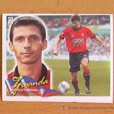 Cromos de Fútbol: OSASUNA - ZIGANDA - EDICIONES ESTE 2000-2001, 00-01 - NUNCA PEGADO. Lote 35703994