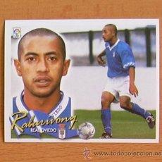 Cromos de Fútbol: OVIEDO - RABARIVONY - EDICIONES ESTE 2000-2001, 00-01 - NUNCA PEGADO. Lote 35704178