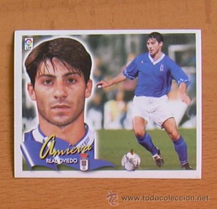 OVIEDO - AMIEVA - EDICIONES ESTE 2000-2001, 00-01 - NUNCA PEGADO (Coleccionismo Deportivo - Álbumes y Cromos de Deportes - Cromos de Fútbol)