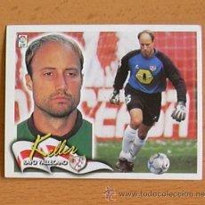 Cromos de Fútbol: RAYO VALLECANO - KELLER - EDICIONES ESTE 2000-2001, 00-01 - NUNCA PEGADO. Lote 35711187