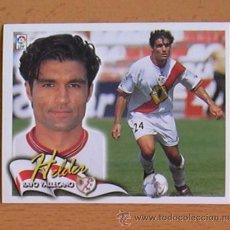 Cromos de Fútbol: RAYO VALLECANO - HELDER - EDICIONES ESTE 2000-2001, 00-01 - NUNCA PEGADO. Lote 35711246