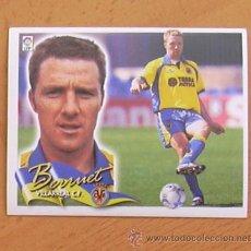Cromos de Fútbol: VILLARREAL - BERRUET - EDICIONES ESTE 2000-2001, 00-01 - NUNCA PEGADO. Lote 35714085