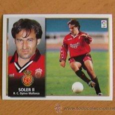 Cromos de Fútbol: MALLORCA - SOLER II - EDICIONES ESTE 1998-1999, 98-99 - NUNCA PEGADO. Lote 35766871