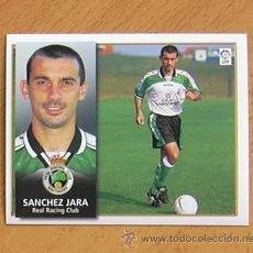 Cromos de Fútbol: RÁCING DE SANTANDER - SÁNCHEZ JARA - EDICIONES ESTE 1998-1999, 98-99 - NUNCA PEGADO. Lote 35772688