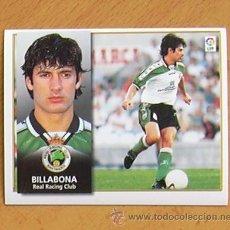 Cromos de Fútbol: RÁCING DE SANTANDER - BILLABONA - EDICIONES ESTE 1998-1999, 98-99 - NUNCA PEGADO. Lote 35772695
