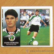 Cromos de Fútbol: RÁCING DE SANTANDER - VIVAR DORADO - EDICIONES ESTE 1998-1999, 98-99 - NUNCA PEGADO. Lote 35772705