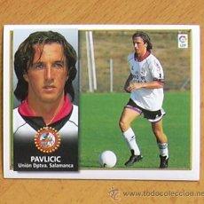 Cromos de Fútbol: SALAMANCA - PAVLICIC - EDICIONES ESTE 1998-1999, 98-99 - NUNCA PEGADO. Lote 35772910