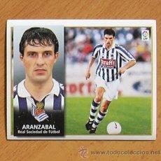 Cromos de Fútbol: REAL SOCIEDAD - ARANZÁBAL - EDICIONES ESTE 1998-1999, 98-99 - NUNCA PEGADO. Lote 35774094
